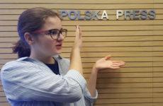 Więcej o: Klasa 1BP w siedzibie Polska Press