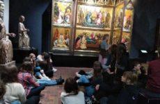 Więcej o: Lekcja muzealna  w Galerii Sztuki Średniowiecznej